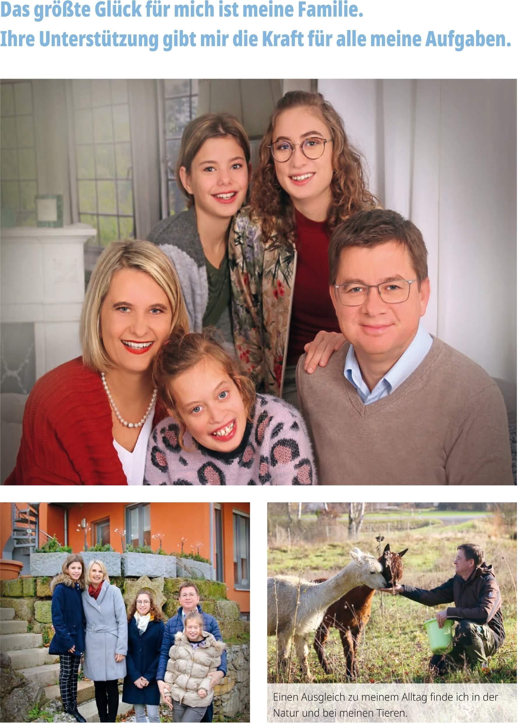 Markus Graf Familie