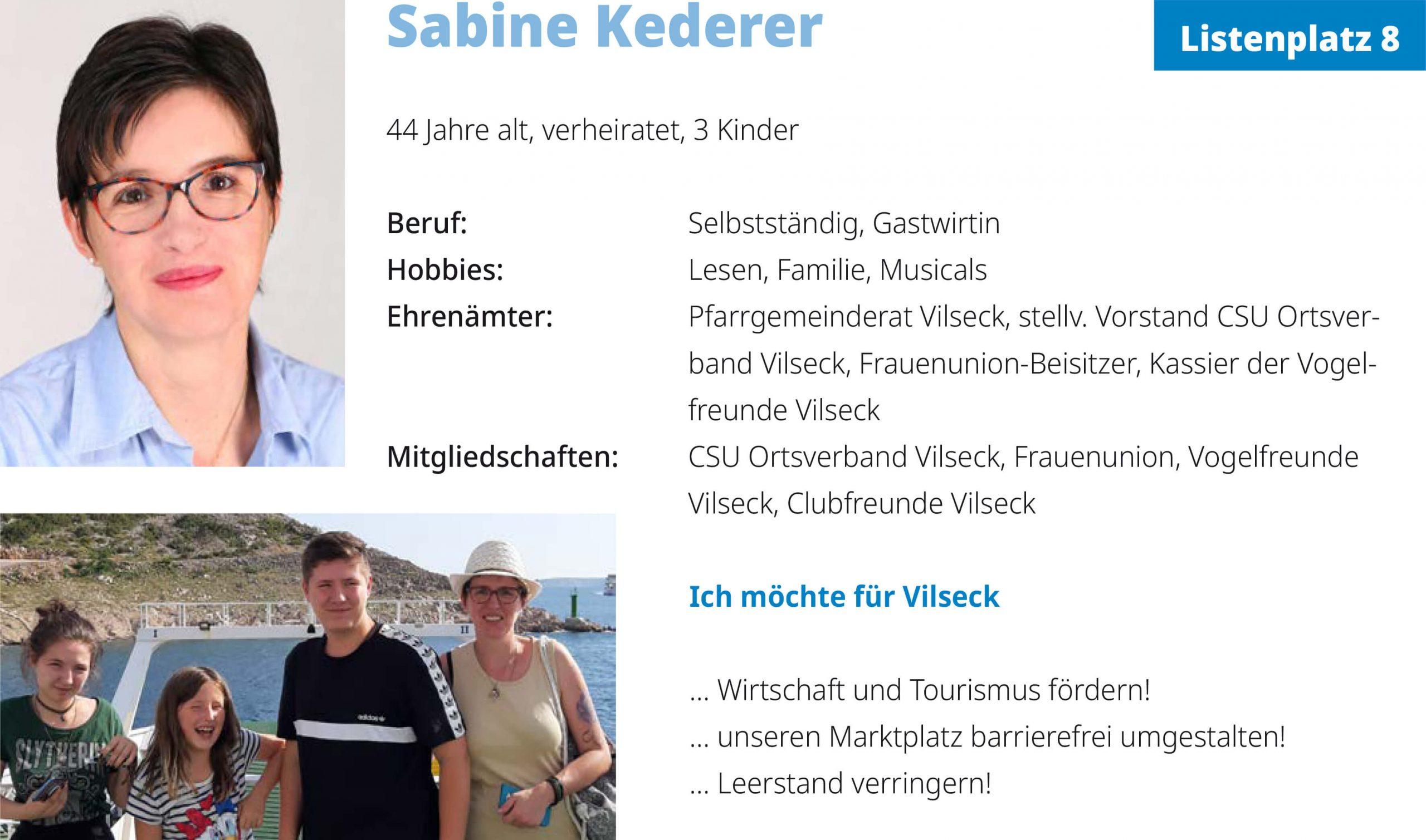 Sabine Kederer