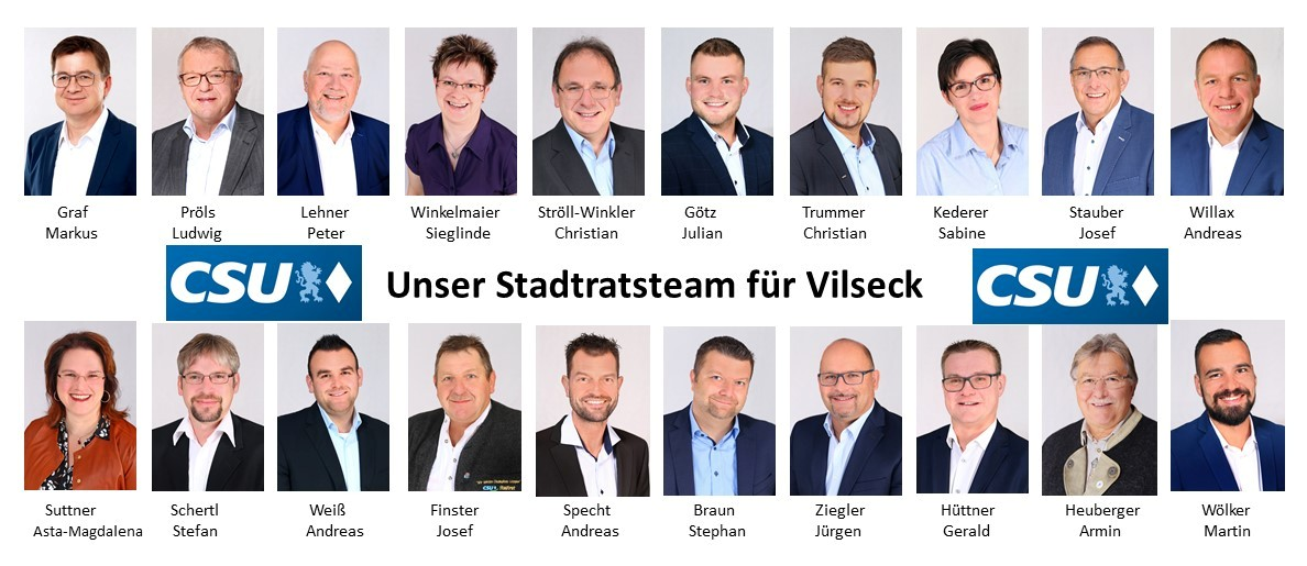 Stadtratsteam für Vilseck